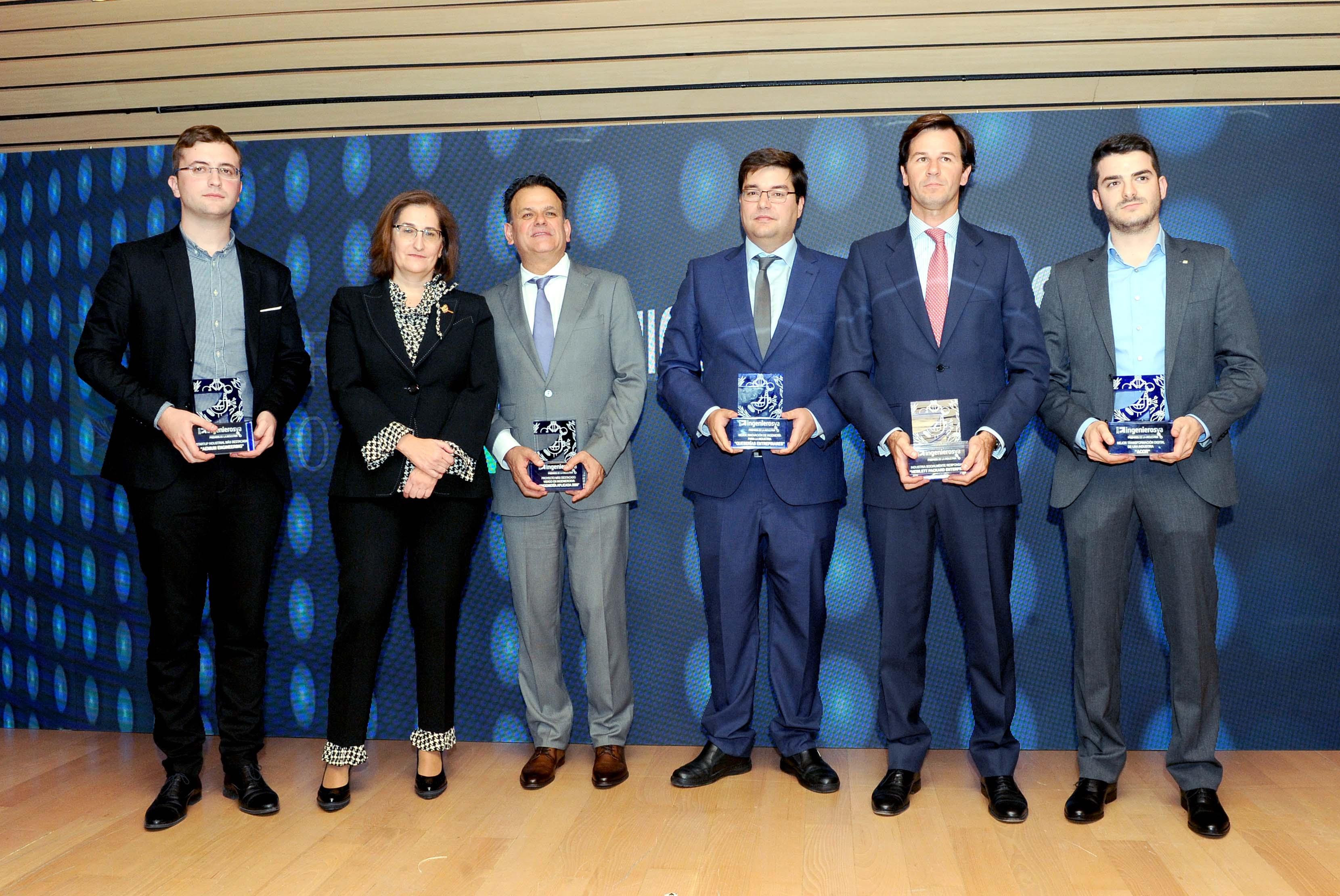 III Premios de la Industria de ingenierosVA - ganadores