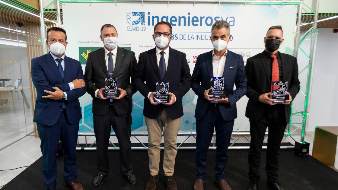 Premiados IV Premios de la Industria de ingenierosVA